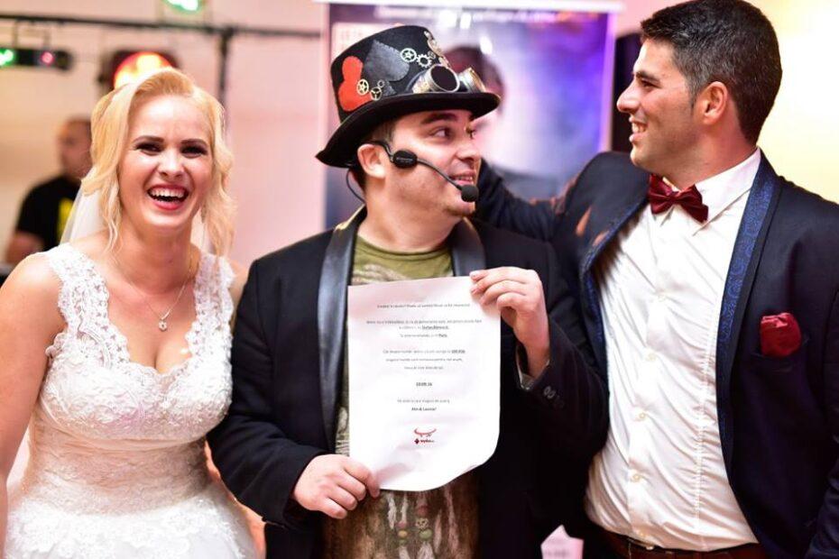 Spectacol magie la nunta cu Mydas (divertisment, momente artistice)