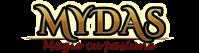 Logo titlu Mydas Magician Evenimente